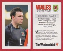Wales Darren Ward Nottingham Forest